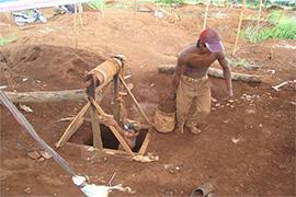 extraction pierres
