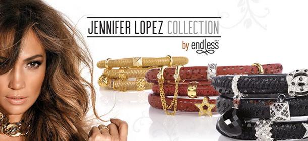 Collection de bijoux Jennifer Lopez by Endless Jewelry
