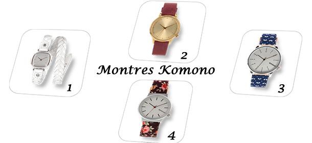 Montre Originale Cadeau : Retrouvez toutes les montres komono sur le site internet de la marque